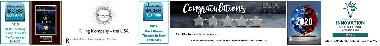 New York City Halloween Dinner Theatre 2020 Reviews THE KILLING KOMPANY MURDER MYSTERY DINNER SCHEDULE OF SHOWS